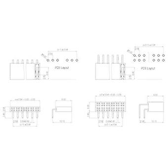 Receptacles (standard) No. of rows: 1 Pins per row: 3 W & P Products 159-03-1-00 1 pc(s)