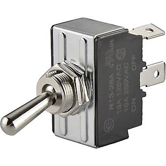 Toggle switch 250 V AC 10 A 1 x Off/On SCI R13-28A