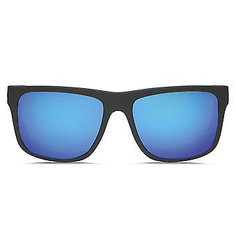 Electric Swingarm XL Sunglasses - Matte Black / Blue Chrome