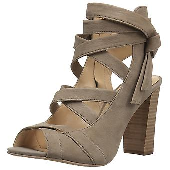 Vince Camuto Womens Sammson Suede Peep Toe Casual Strappy Sandals