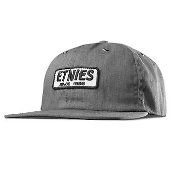 ETNIES Seager Strapback Cap - Grey / Heather