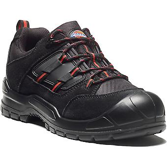 Dickies Mens Everyday Suede Mesh Steel Toe Cap Protection Safety Shoe