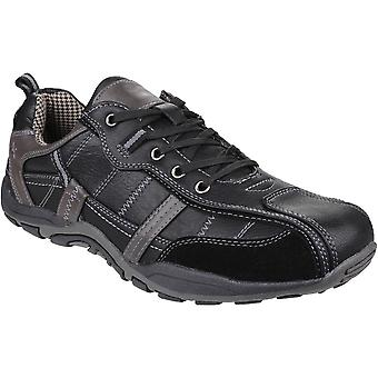 Fleet And Foster Mens Portsmouth Classic Lace Up Casual Summer Shoes