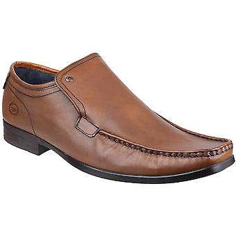 Base London Mens Base London Carnoustie Slip On Leather Loafer Shoes