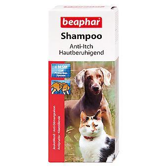 Beaphar champú de antipruriginosos para perros y gatos 200 ml MSM ayuda a fortalecer el cabello