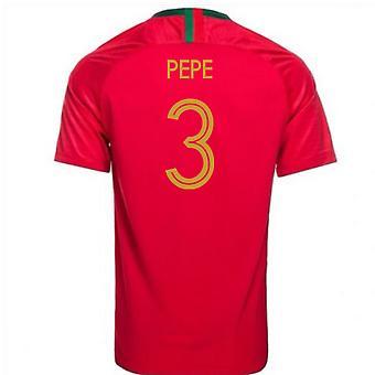 2018-2019 Portogallo casa maglia da calcio Nike (Pepe 3) - per bambini