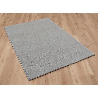 Skald 49001 5262 lt Silver rektangel mattor Plain/nästan slätt mattor