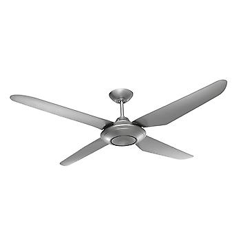 Ceiling fan Airfusion Sensation Silver with wall control 132 cm / 52