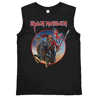 Versterkte Iron Maiden Trooper op Steed mouwloos