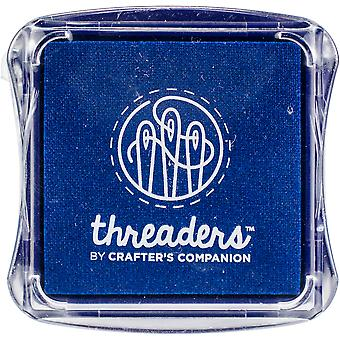 Crafter's Companion Threaders Fabric Ink Pads-Blue