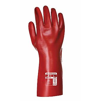 Portwest - Aqua Grip PVC Covers Mid Forearm Gauntlet (1 Pair Pack)