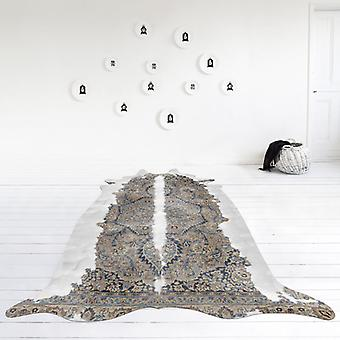 Rugs -Mineheart - Super Long Persian Faux Cowhide Rug