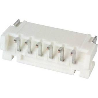 JST Built-in pin strip (standard) PH Total number of pins 6 Contact spacing: 2 mm S6B-PH-SM4-TB (LF)(SN) 1 pc(s)