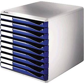 Leitz Desk drawer box 5281-00-35 Blue No. of compartments: 10