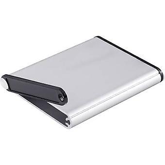 Hammond Electronics 1455A802 Treaded casing 80 x 70 x 12 Aluminium Aluminium 1 pc(s)