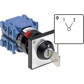 Kraus & Naimer CH10 A221-600 FT2 V750D/3J Changeover switch 20 A 1 x 60 ° Grey, Black 1 pc(s)