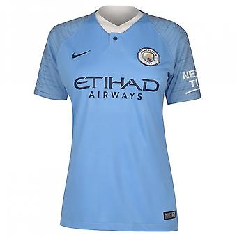 2018-2019 Man City Home Nike Damen Shirt