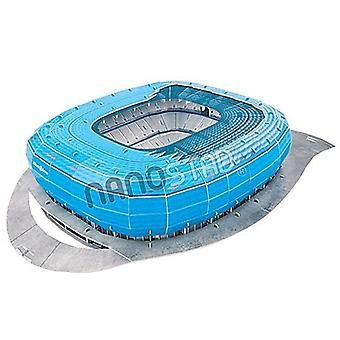 Tsv 1860 Munich Allianz Arena 3D Jigsaw Puzzle Blue (1860 Colour)