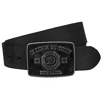 Tom tailor denim mens leather coupling Belt Belt Black TM0189L141-0790