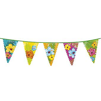 Giant 6m Hawaiian Bunting Beach Party Decoration Accessory/ Supplies