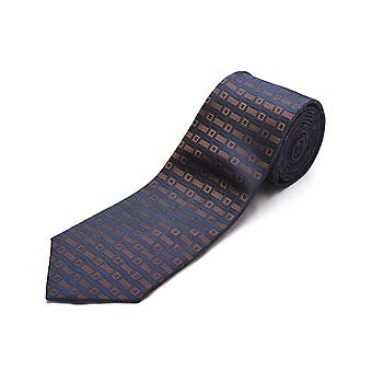 Luciano Barbera mænd Slim silke hals Tie Brown
