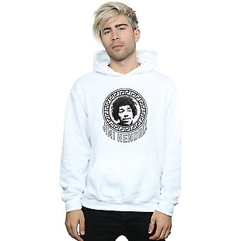 Jimi Hendrix Men's Pattern Circle Hoodie
