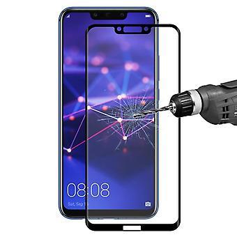 2 x för Huawei Mate 20 Lite 4 d 0,3 mm H9 härdat svart glas böjda skjutlocket skydd nya