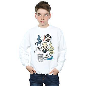 Fabeldyr gutter Chibi Grindelwald Sweatshirt