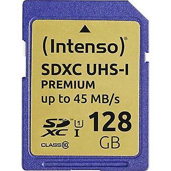 Intenso Premium SDXC card 128 GB Class 10, UHS-I