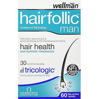 Vitabiotics Hairfollic Man Hair Health Supplement - 60 Tablets