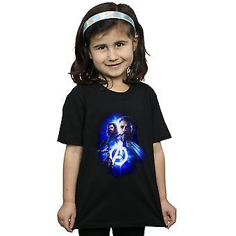 Marvel Avengers infinito guerra Cap Bucky ninas por t-shirt