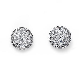 Oliver Weber Post boucle d'oreille Pin Rhodium cristal