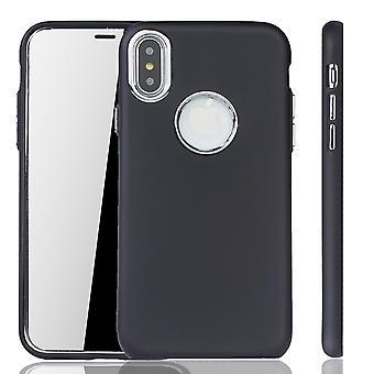 Apple iPhone X / XS caso - caso de telefone celular para Apple iPhone X / XS - caso móvel em preto