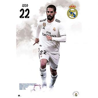Real Madrid Poster Isco 59