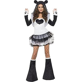 Fever Panda Costume, UK Dress 12-14