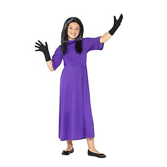 Roald Dahl Deluxe The Witches Costume, Licensed Fancy Dress, Medium Age 7-9