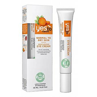Ja til gulerødder Moisturizing Eye Cream