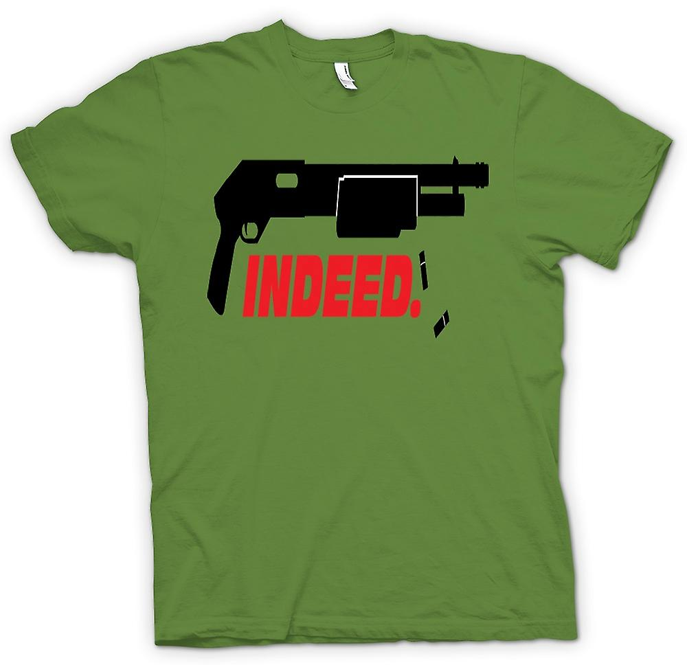 Mens T-shirt - Shotgun Indeed - Anarchy - Funny