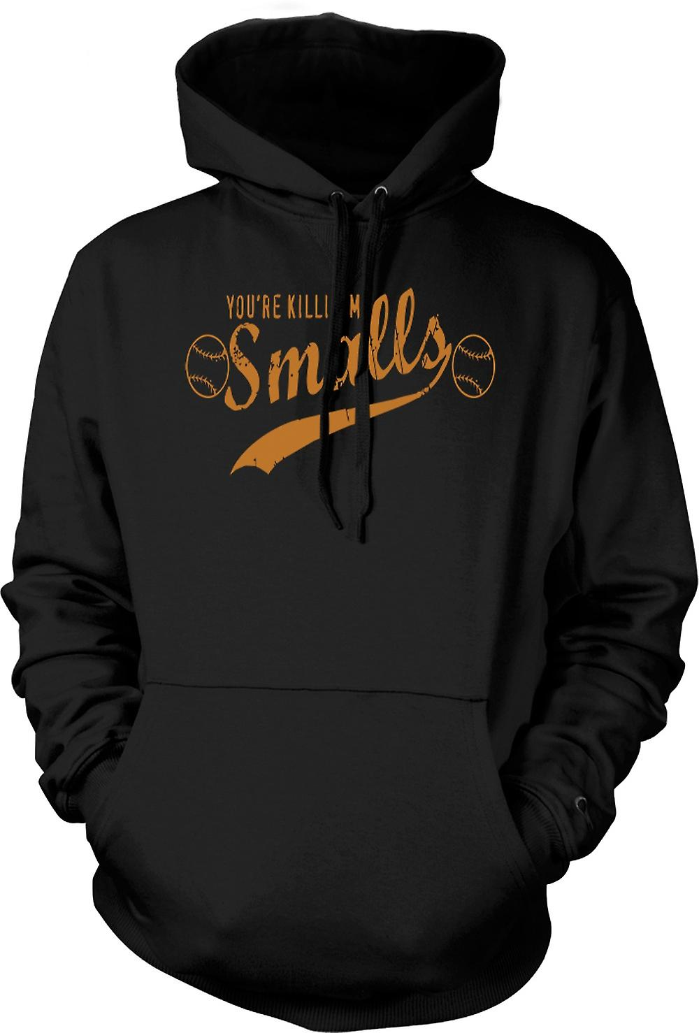 Mens Hoodie - Your Killing Me Smalls - Quote
