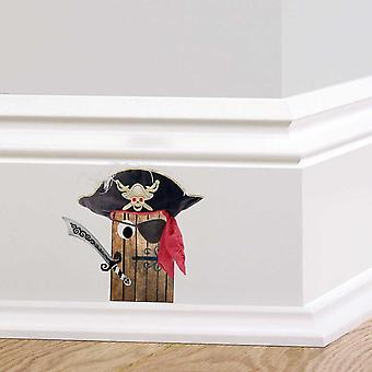 Full Colour Pirate Door Wall Sticker