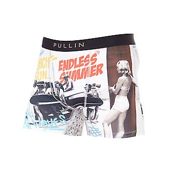 Pull-In White-Black Fashion 2 Pop Surf Boxer Shorts