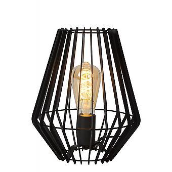 Lámpara de mesa moderna de Metal Oval negro Lucide Reda
