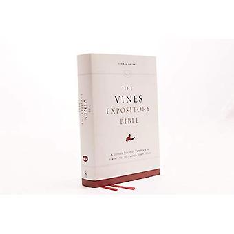 NKJV, Biblia wyjaśniający winorośli, tkaniny na pokładzie, czerwone litery Edition