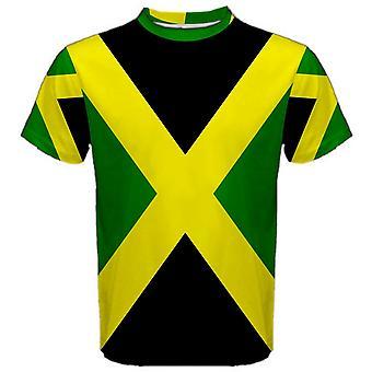 Bandera de Jamaica sublimada camiseta deportiva