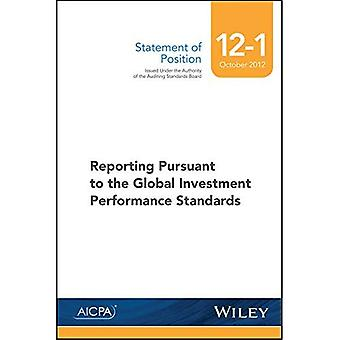 Sop 12-1 Reporting Pursuant� to the Global Investment Performance Standards