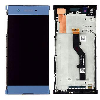 Sony display LCD complete unit for Xperia XA1 plus 78PB6100030 blue spare parts new