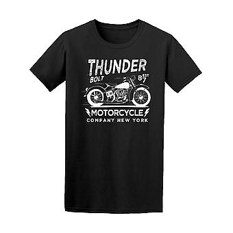 New York Motorcycle Graphic Tee Men's -Image by Shutterstock