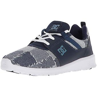 DC Womens Heathrow Low Top Lace Up Fashion Sneakers