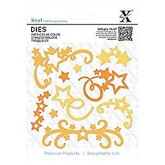 Xcut Dies (10pcs) - Star Flourish (XCU 503302)