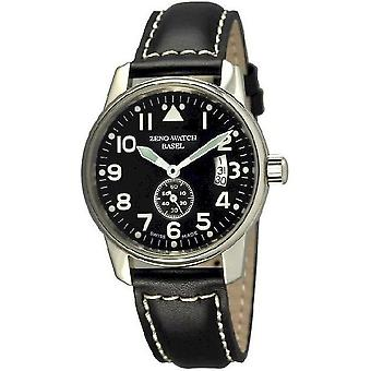 Zeno-watch mens watch of classic observer automatic 6595-6N-a1